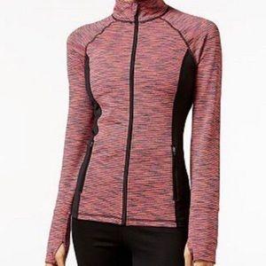 Ideology | Full Zip Space Dyed Jacket | Size XS